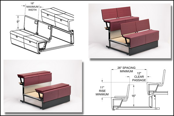 Irwin Seating Student Desk